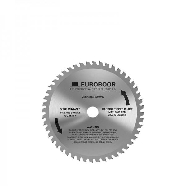 Циркулярен диск 230 mm (25.4) 48T (x2.2) за стомана и алуминий (230.0003) от www.magbor.com