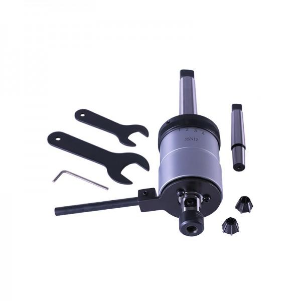 Резбонарезен патронник M5 - M12, автоматично реверсивен, комплект (GSW.512R) от www.magbor.com