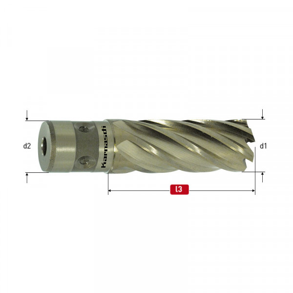 Боркорона Ø  16x40, HSS-XE Fein Quick-In Gold-Line40 (201146u016) от www.magbor.com
