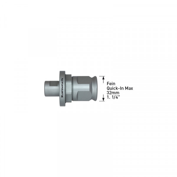 Опашка Fein Quick-IN Max 32 (6.34 mm) за Power-Max (201163) от www.magbor.com