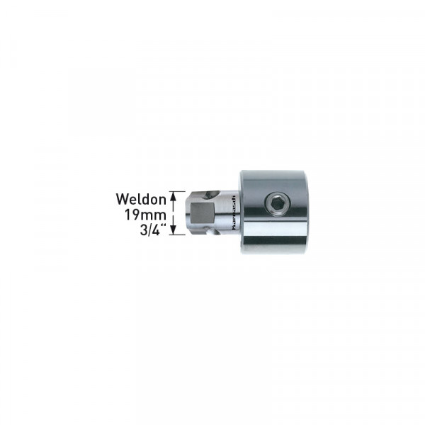 Адаптер Weldon 19.05 mm (3,95) - Weldon 12.7 mm, за Mini-Line8 (201234) от www.magbor.com