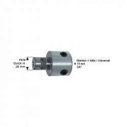 Адаптер Fein Quick-IN 18 mm (6,34) - Weldon 19.05 mm