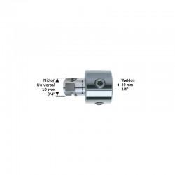 Адаптер Nitto/Universal 19.05 (7,98) - Weldon 19.05