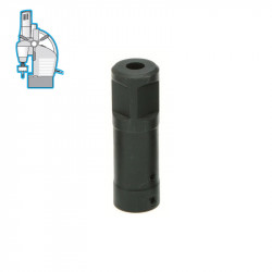 """Адаптер Weldon 19.05 mm - 1/4"""" шестостен"""