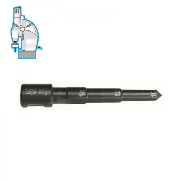 Стъпално свредло Ø 10-12-14 mm (x25 mm), HSS, Weldon 19 (19X10M3) от www.magbor.com