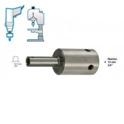 Адаптер за патронник Ø13 mm (6,34) - Weldon 19.05 mm