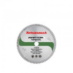 Циркулярен диск 230 mm (25.4) 80T (x2.0) за алуминий Raptor