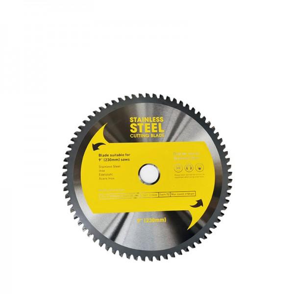 Циркулярен диск 230 mm (25.4) 72T (x2.0) за неръждаема стомана (RAPBQ230SS) от www.magbor.com